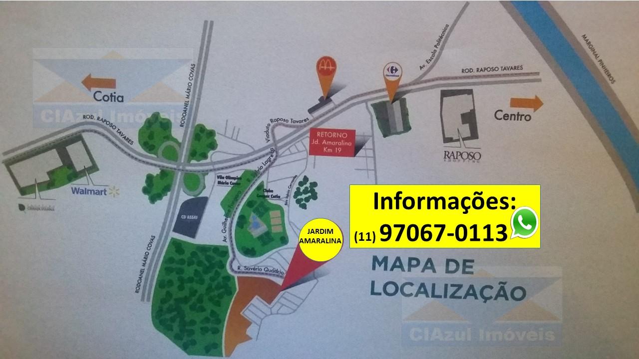 Mapa - Jardim Amaralina
