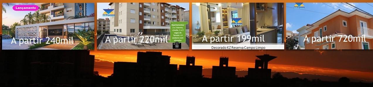 KZ Reserva Campo Limpo 2 Dorms.